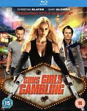 GUNS,GIRLS,GAMBLING - Blu Ray Disc -