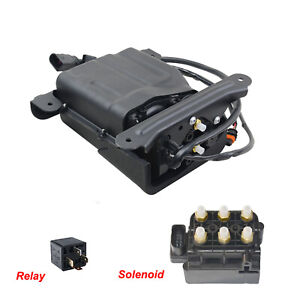 For Porsche Panamera 970 09-16 Air Suspension Compressor w/Housing & Solenoid AG