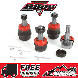 Alloy USA Heavy Duty Ball Joint Set (2 upper 2 lower) Jeep TJ/LJ/YJ/XJ 11801