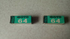 Vintage B&W Negative Film Svema 64 120 print 2 Rolls in lot Expired