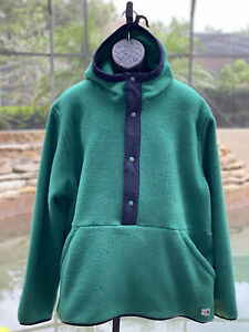 THE NORTH FACE CARBONDALE 1/4 SNAP HOODED JACKET (XXL)