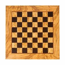 "Olive wood & Wenge handcrafted chess board in Greece - 2"" Squares"