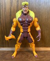 "Sabretooth Vintage Uncanny X-Men 10"" Deluxe Action Figure 1993 Toybiz Marvel 90s"