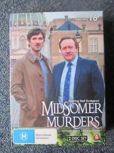 DVD MIDSOMER MURDERS SEASON 16 PART TWO   GREAT *** MUST SEE ****