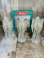 House of Lloyd Frosted Christmas Angel Trio Tree Ornaments Free Shipping