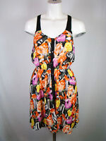 Silence + Noise Urban Outfitters Womens Dress Casual Summer Beach Floral XS
