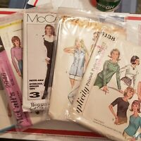 Bulkamania Lots 1-5 Ephemera Vintage Sewing Patterns McCall Simplicity