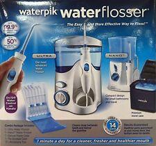 Waterpik Water Flosser, Nano Flosser, Deluxe Traveler Case COMBO PACK