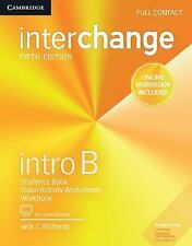 Interchange Intro B Full Contact with Online Self-Study and Online Workbook (Mix
