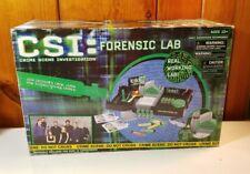 CSI Crime Scene Investigation Forensic Lab Kit CBS 2005 Planet Toys
