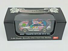 KYOSHO 1:64 BEADS COLLECTION Nº 061 NISSAN AXIA TRANPIO SKYLINE GT-R 1991 22 NEW