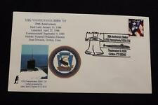 NAVAL COVER 2009 FANCY CANCEL 20TH COMMISSION USS PENNSYLVANIA (SSBN-735) (720)