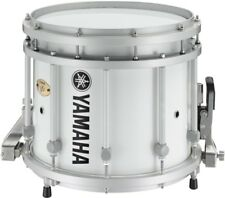 Yamaha SFZ Marching Snare Drum 13x11 Inch White Forest with Standard Hardware