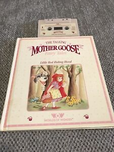 World of Wonder-  Talking Mother Goose - Little Red Riding Hood Book and Tape