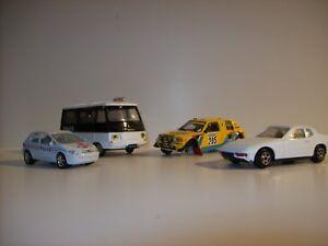 Lot de 4 voitures NOREV