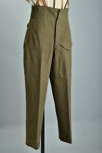 British Army WW2 Battle Dress Uniform Trousers. CMR