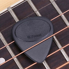 10pcs 0.7mm Smooth Guitar Pick Holder Plectrum Acoustic Electric Bass Anti Slip