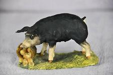 1980 Schmid Border Fine Arts Lowell Davis Wilbur Pig Apples (1Bo1299)