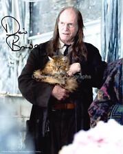 DAVID BRADLEY as Argus Filch - Harry Potter GENUINE AUTOGRAPH UACC (R6116)