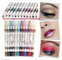 Paleta De Sombra de ojos Lápiz Shimmer Pen Maquillaje Set 12 Colores Delineador