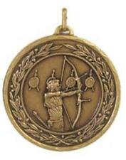 Archery Medal boxed FREE engraving Archery Club Event Prize Competition