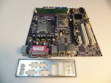 Ecs Elite Group 945G-M3, V:1.0B Lga775 Intel Motherboard +Cpu 2.8Ghz+Ram 1Gb+I/O