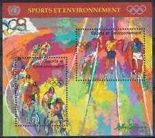 Nations Unies - Geneve postfris 1996 MNH blok 8 - Sport en Milieu