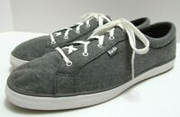 Keds  Womens Sz 11 Maven Jersey Shoes Sneakers Lace-Up Dark Gray Comfort New