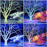 Snowtime 100 300 LED Connectable Xmas Tree String Lights Colour White Warm Blue