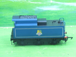 Hornby (China) Merchant Navy class loco tender BR Blue early crest -