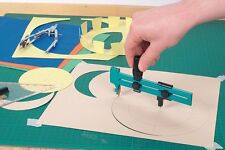 Adjustable Circle Cutter Cuts Circles from Leather Paper Cardboard Foils 23cm