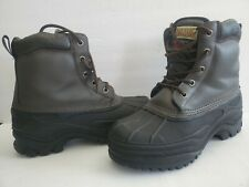 Rugged Exposure Boots Thermolite Size 9 snowBoots Water proof boots hiking boots