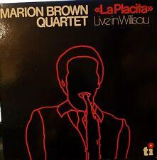 """Marion Brown Quartet, """"La Placita"""". Live in Willisau.Vinyl LP"""