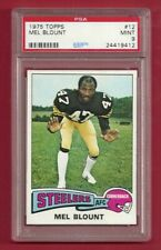 1975 TOPPS #12 MEL BLOUNT PSA 9 MINT ROOKIE RC HOF PITTSBURGH STEELERS
