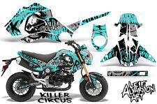 Honda GROM 125 Dirt Bike Graphic Sticker Kit Decal Wrap MX 2013-2015 CIRCUS MINT