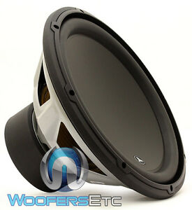 "13W3v3-2 JL AUDIO 13.5"" SUB SINGLE 2 OHM CAR SUBWOOFER SPEAKER LOUD BASS 13W3"