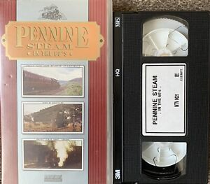 PENNINE STEAM IN THE 60'S-TRAINS-VHS VIDEO