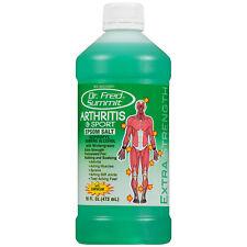 Dr Fred Summit Arthritis & Sport Epsom Salt 16oz - Green Bottle
