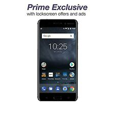 Nokia 6 - 32 GB - Unlocked (AT&T/T-Mobile) - Black - Prime Exclusive - with L...