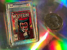 Wolverine limited series # 1  cgc 9.8. ***** MICRO COMIC *****