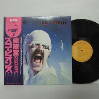 Scorpions – Blackout LP 1982 JAPAN RCA – RPL-8107 DEEP PURPLE HARD ROCK w/ obi