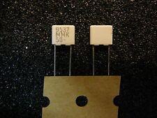 KEMET/EVOX 0.15uF (150nF/150000pF) 50V 10% Polyester Capacitor **NEW** 2/PKG