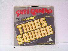 """SUZI QUATRO """"ROCK HARD / MONO"""" 45 / PS  PROMO NEAR MINT"""