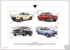 CLASSIC VOLVO Fine Art Print - P1800 P1800ES 122S 123GT Amazon Swedish made cars