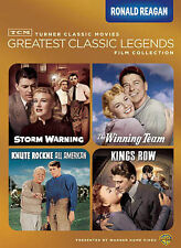 TCM Greatest Classic Legends Film Collection: Ronald Reagan (DVD, 2013,Brand New