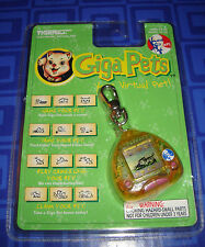Giga Pets Cyber Kitty Electronic Keychain New In The Package Tiger
