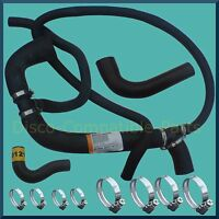 Land Rover Defender 300 TDi Radiator Hose + Stainless Steel Hose Clamp Kit
