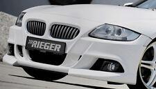 BMW Z4 E85 E86 Roadster Or Coupe 2006-2008 Rieger Genuine Front Bumper Spoiler