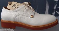 CESARE PACIOTTI 308 LEATHER US 11 LACED MENS OXFORDS ITALIAN DESIGNER SHOES