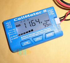 NEW AOK Model CellMeter 8 1- 8S Battery Capacity Voltage Checker Meter For  LiPo